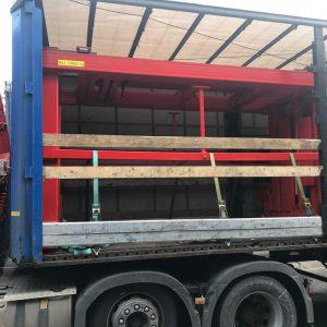 Gantry Lift on Truck