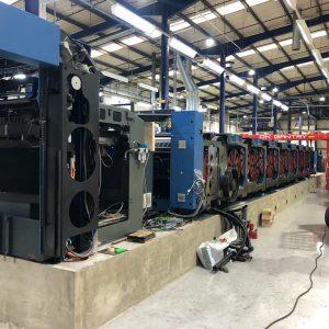 Gantry Lifting Printing Press